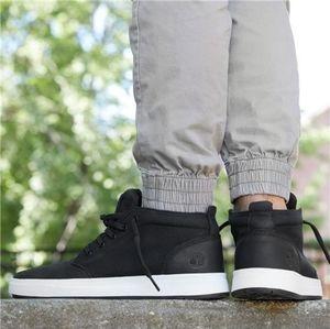 Timberland Davis Square Mixed- Media Chukka Shoes